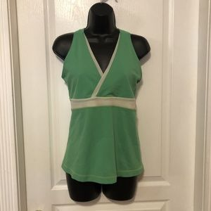 Lulu Lemon Green workout tank top